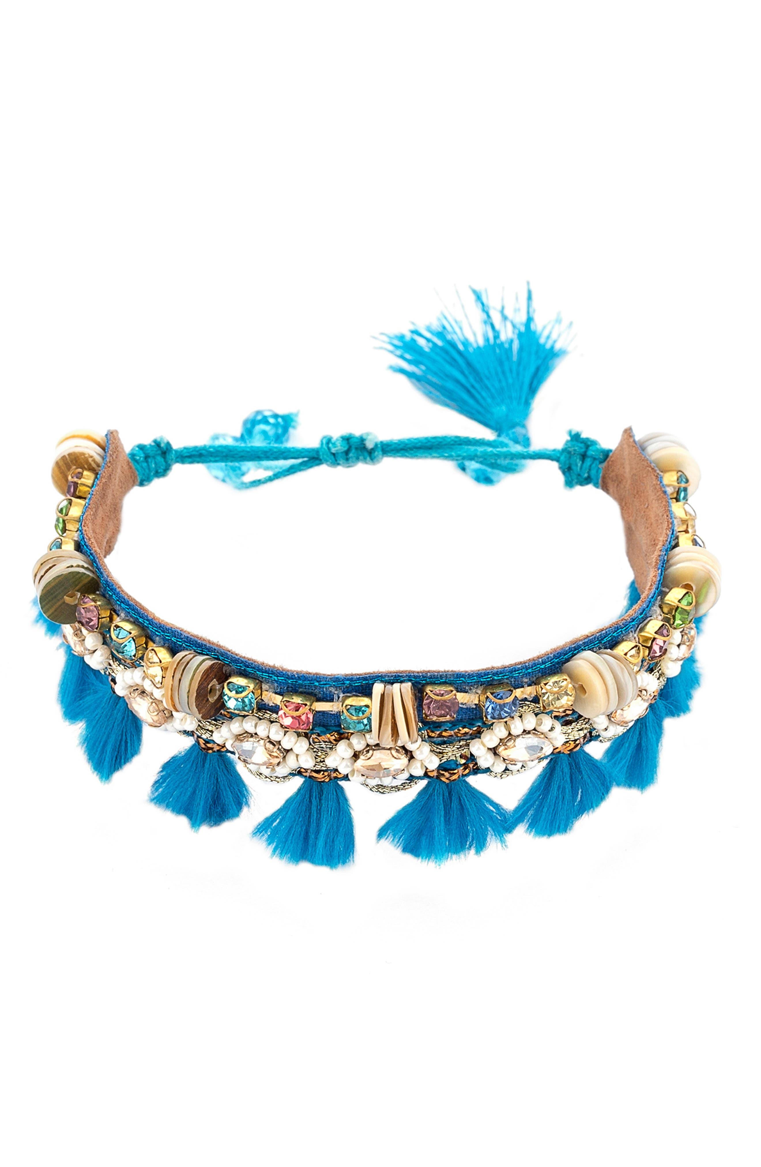 Vivi Tassel Bracelet