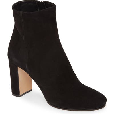 Prada Block Heel Bootie, Black (Nordstrom Exclusive)