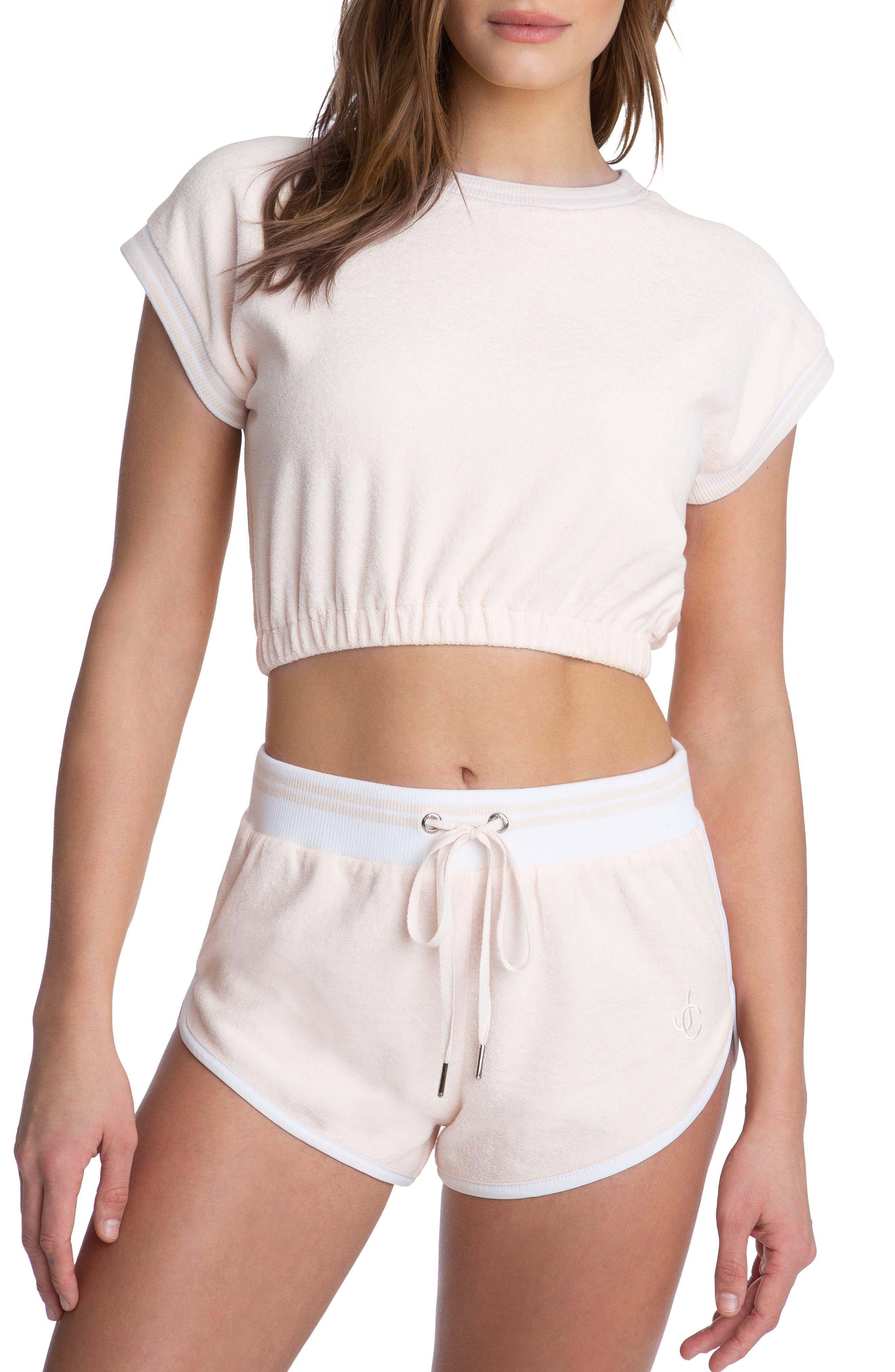 Terry Cloth Crop Top