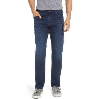 Ag Graduate Slim Straight Fit Jeans, Blue