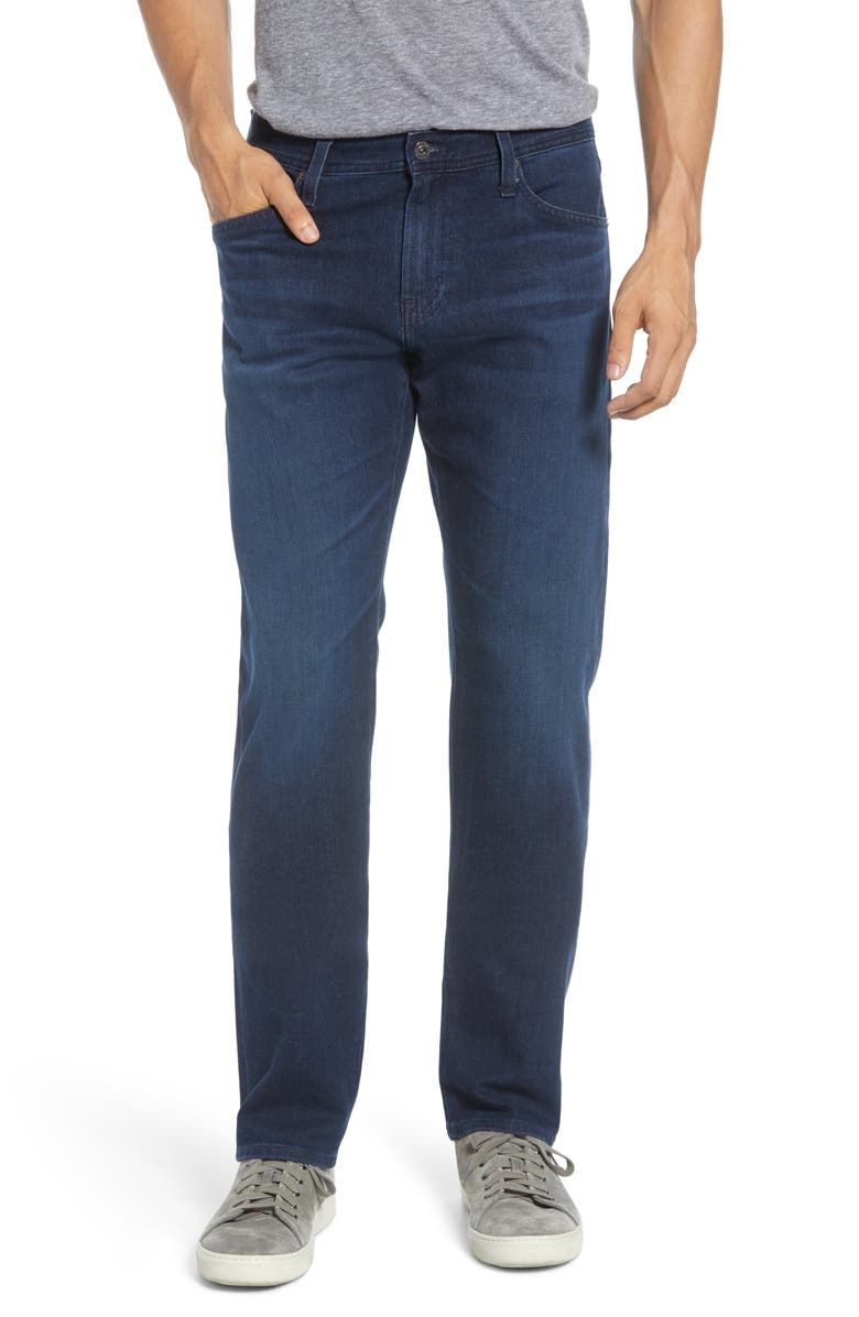 AG Graduate Slim Straight Fit Jeans, Main, color, EQUATION