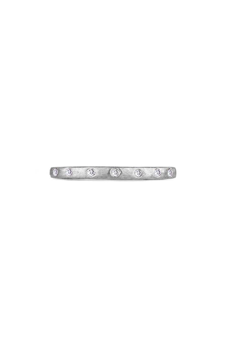 SETHI COUTURE Dunes Diamond Stacking Band Ring, Main, color, WHITE GOLD/ DIAMOND