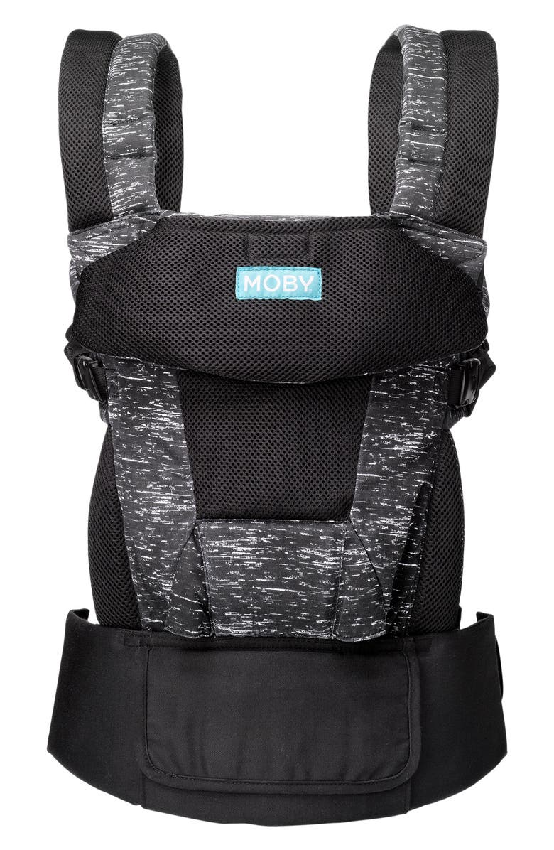 MOBY Move Buckle Baby Carrier, Main, color, TWILIGHT BLACK