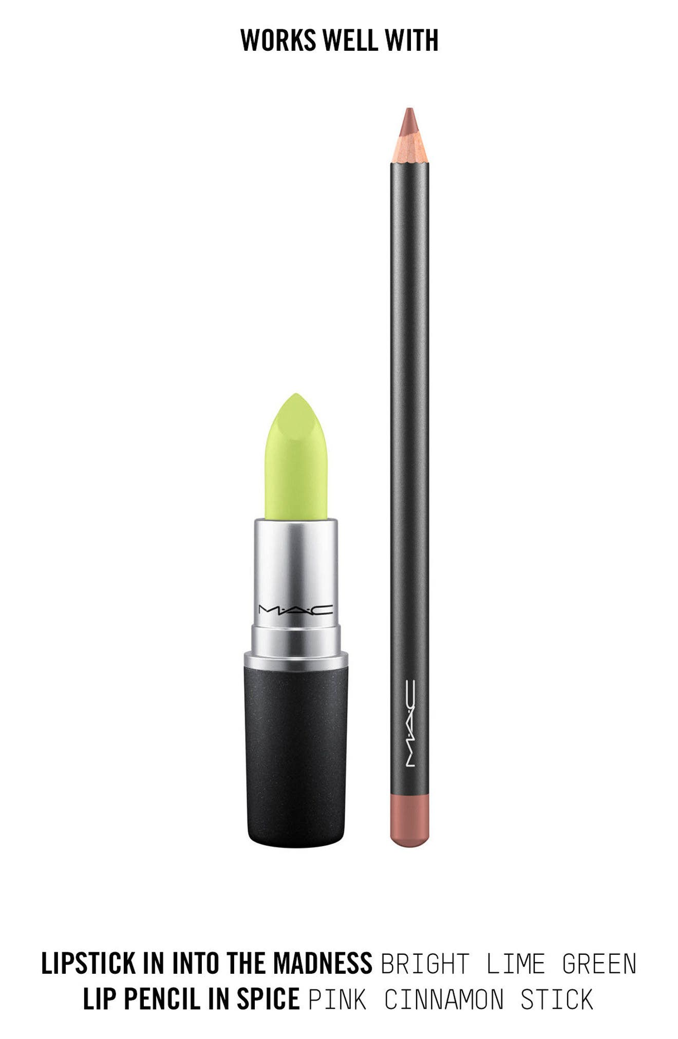 ,                             MAC Strip Down Nude Lipstick,                             Alternate thumbnail 377, color,                             307