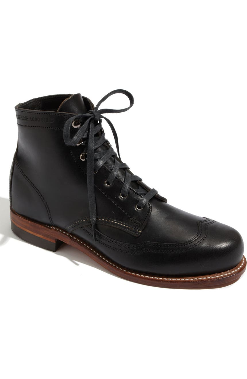 c5c103588eb '1000 Mile - Addison' Wingtip Boot