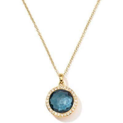 Ippolita Lollipop Mini Pendant Diamond Necklace