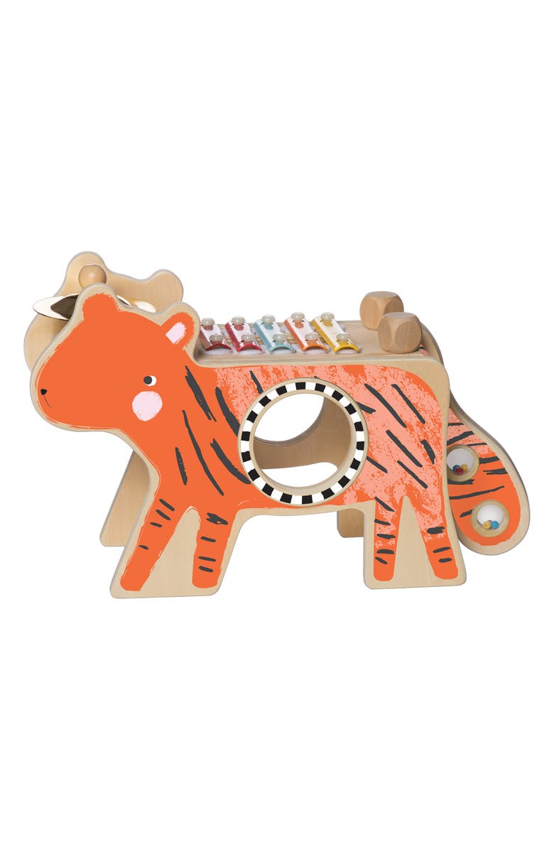 MANHATTAN TOY Musical Tiger, Main, color, MULTI