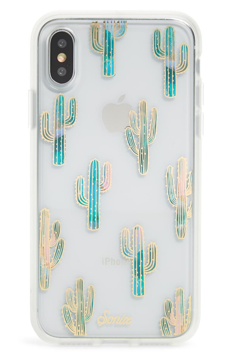 SONIX Mojave iPhone X/Xs, XR & X Max Case, Main, color, TEAL