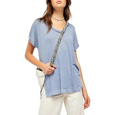 Free People Under The Sun Shirt, Blue