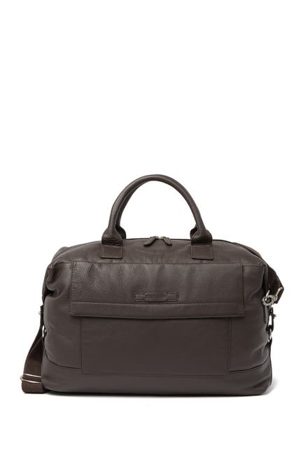 Image of Cole Haan Pebble Leather Weekend Bag
