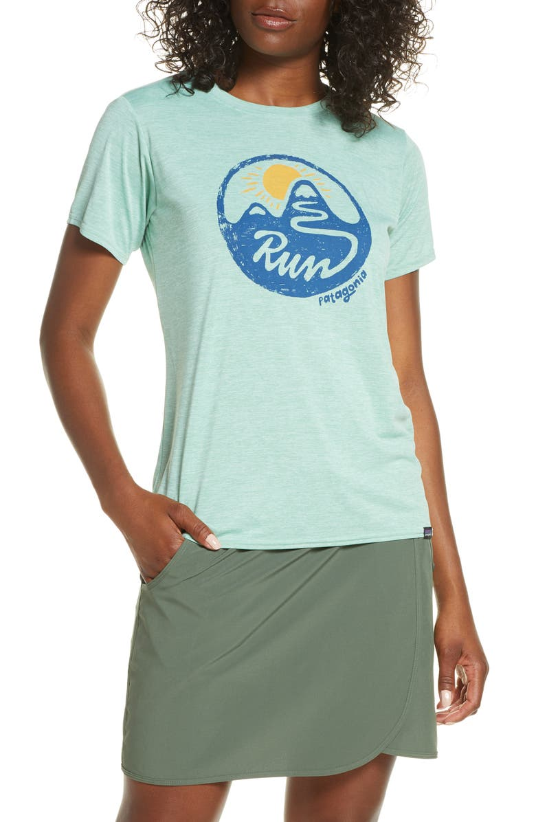 PATAGONIA Capilene<sup>®</sup> Daily Graphic Tee, Main, color, GYPSUM GREEN X-DYE