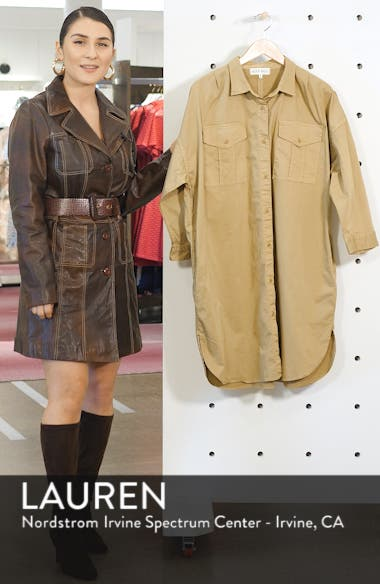 Military Shirtdress, sales video thumbnail
