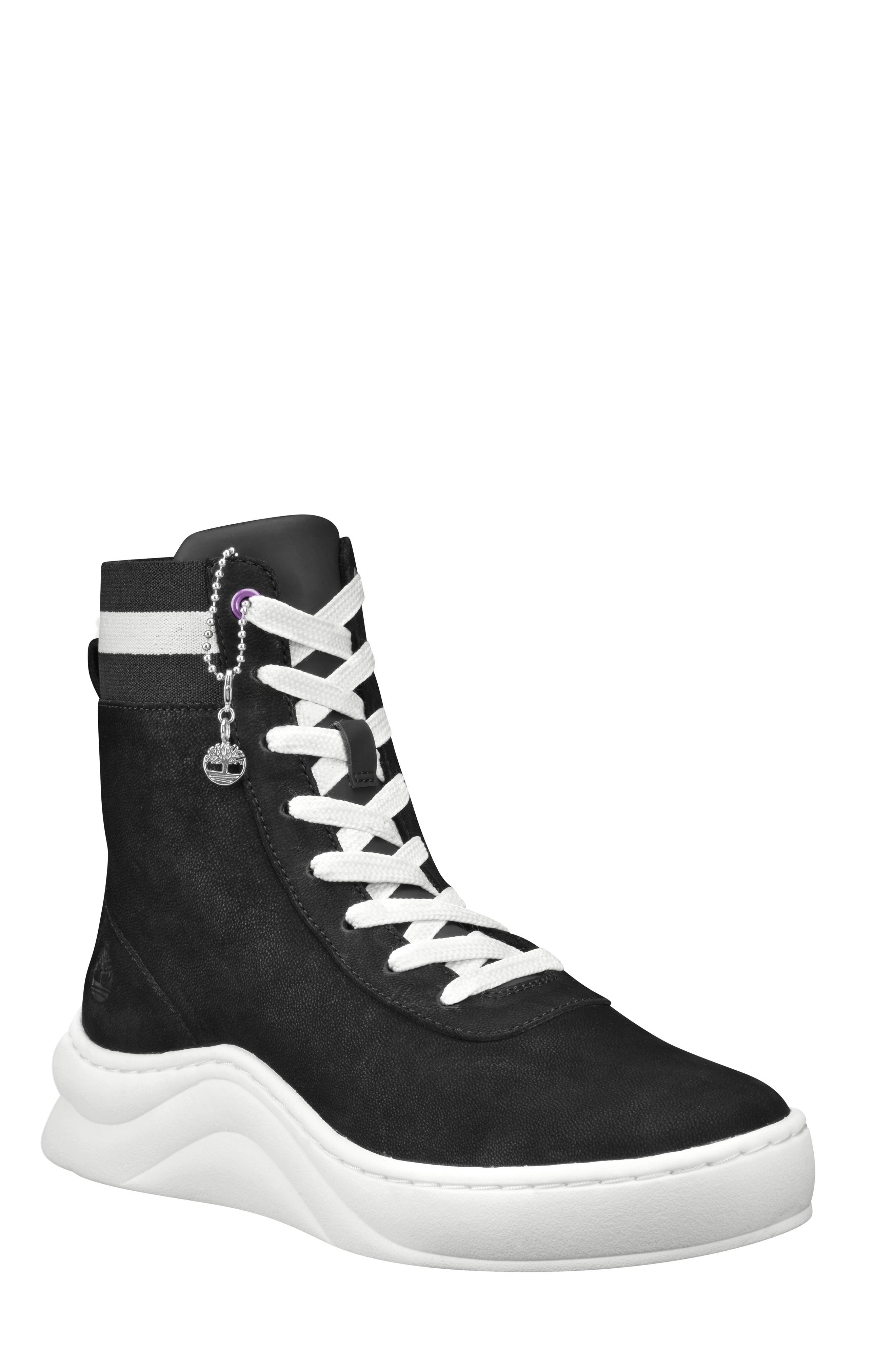Image of Timberland Ruby Ann Leather Sneaker Boot