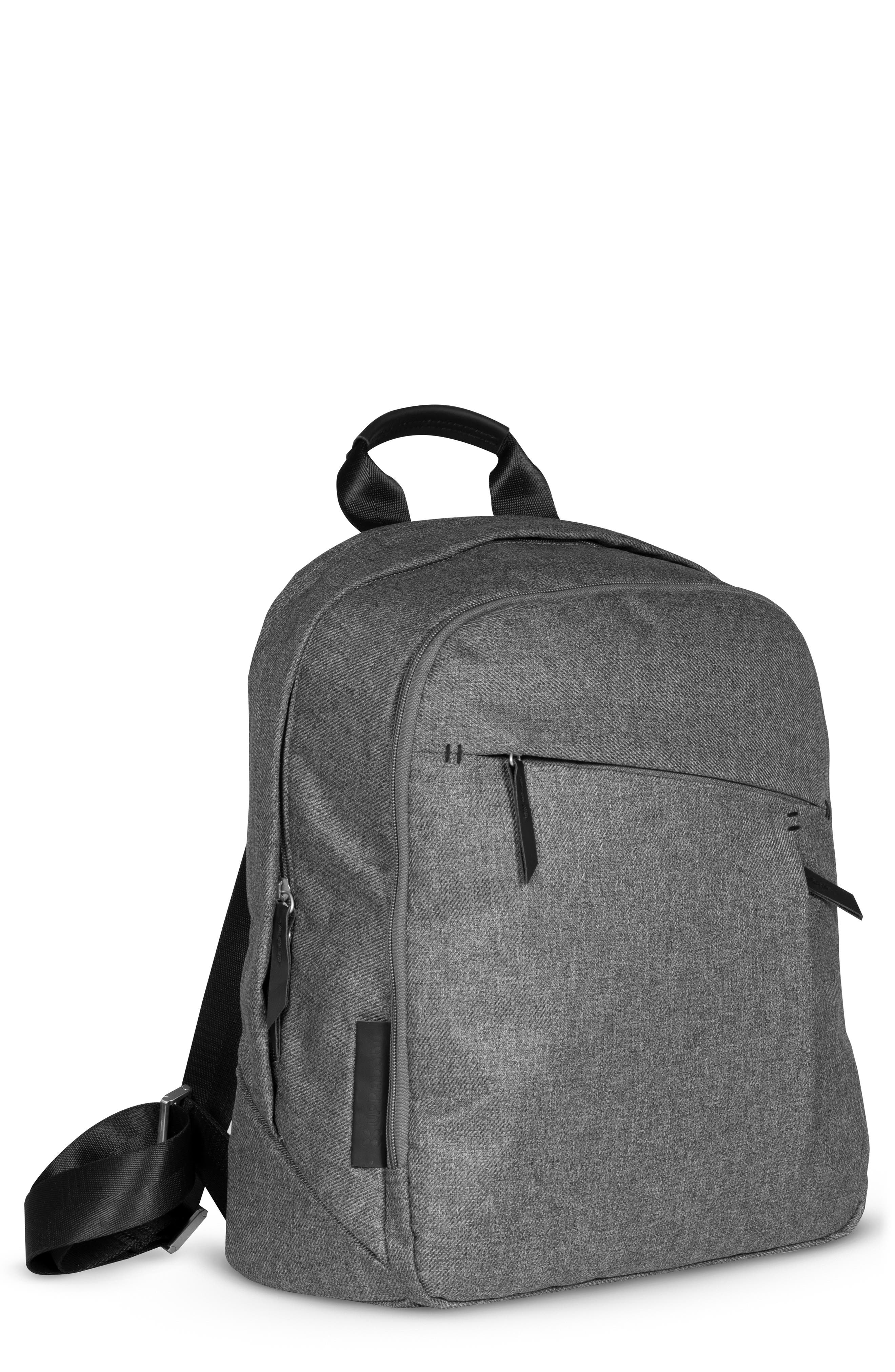 Infant Uppababy Diaper Changing Backpack  Grey