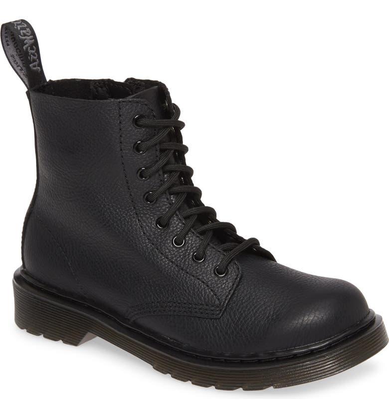 DR. MARTENS 1460 Boot, Main, color, PASCAL BLACK MONO
