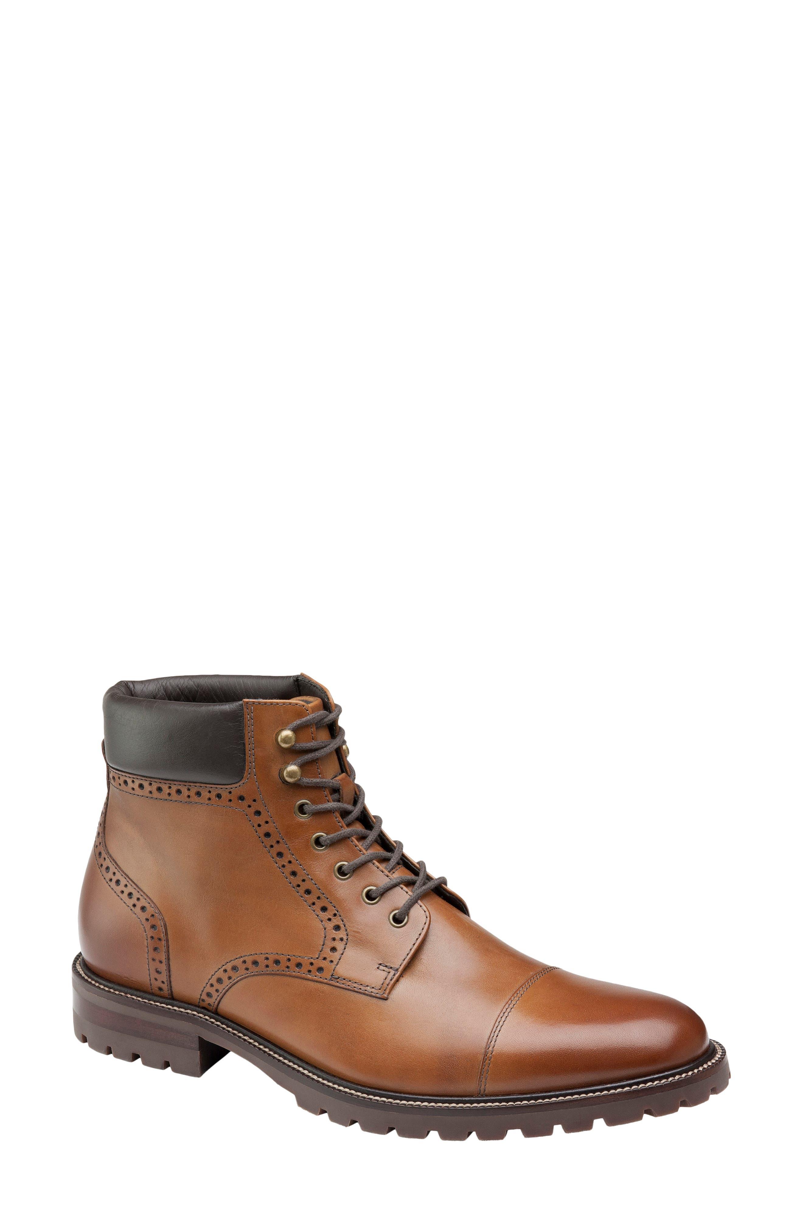 Hobson Cap Toe Boot