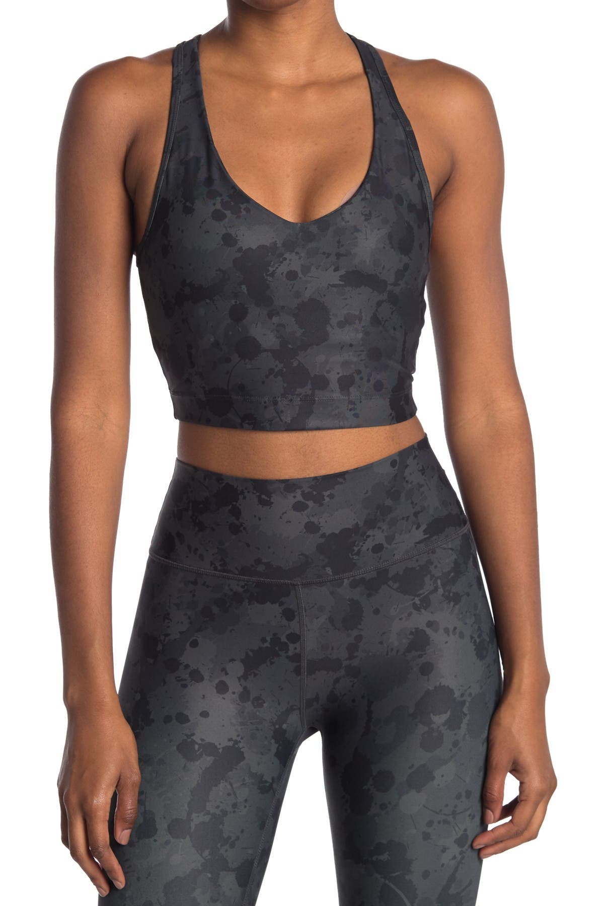 Image of SAGE COLLECTIVE Printed Sports Bra
