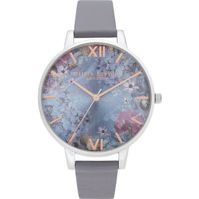 Olivia Burton Under The Sea Faux Leather Strap Watch,
