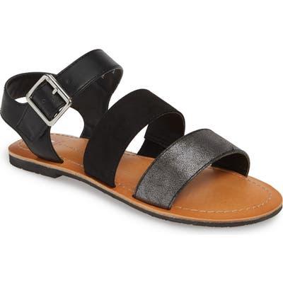 Bc Footwear Picturesque Vegan Sandal- Black