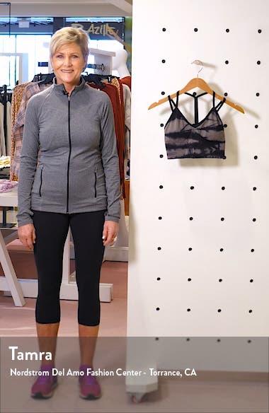 Tie Dye Seamless Sports Bra, sales video thumbnail