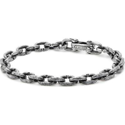 David Yurman Shipwreck Chain Bracelet, m