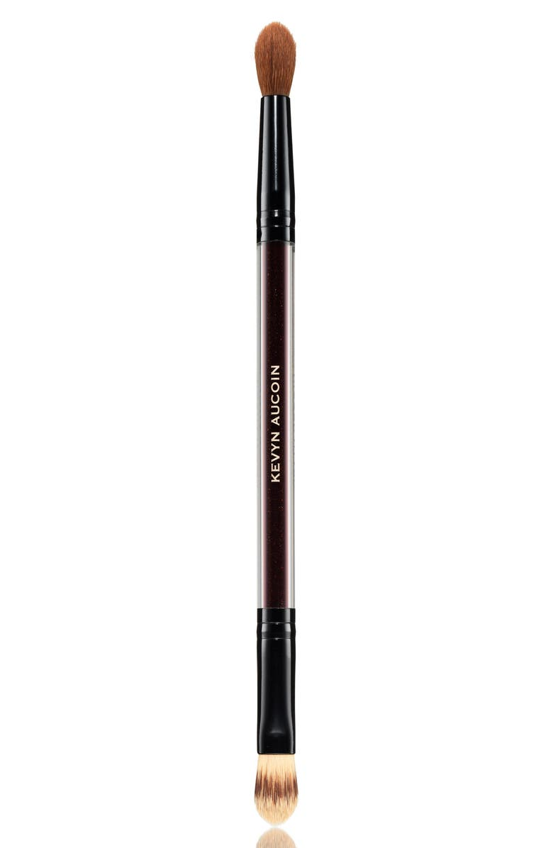 KEVYN AUCOIN BEAUTY The Duet Concealer Brush, Main, color, NO COLOR