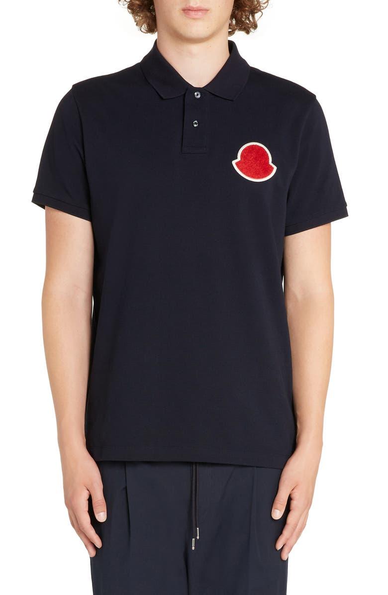 MONCLER Jersey Polo, Main, color, 429