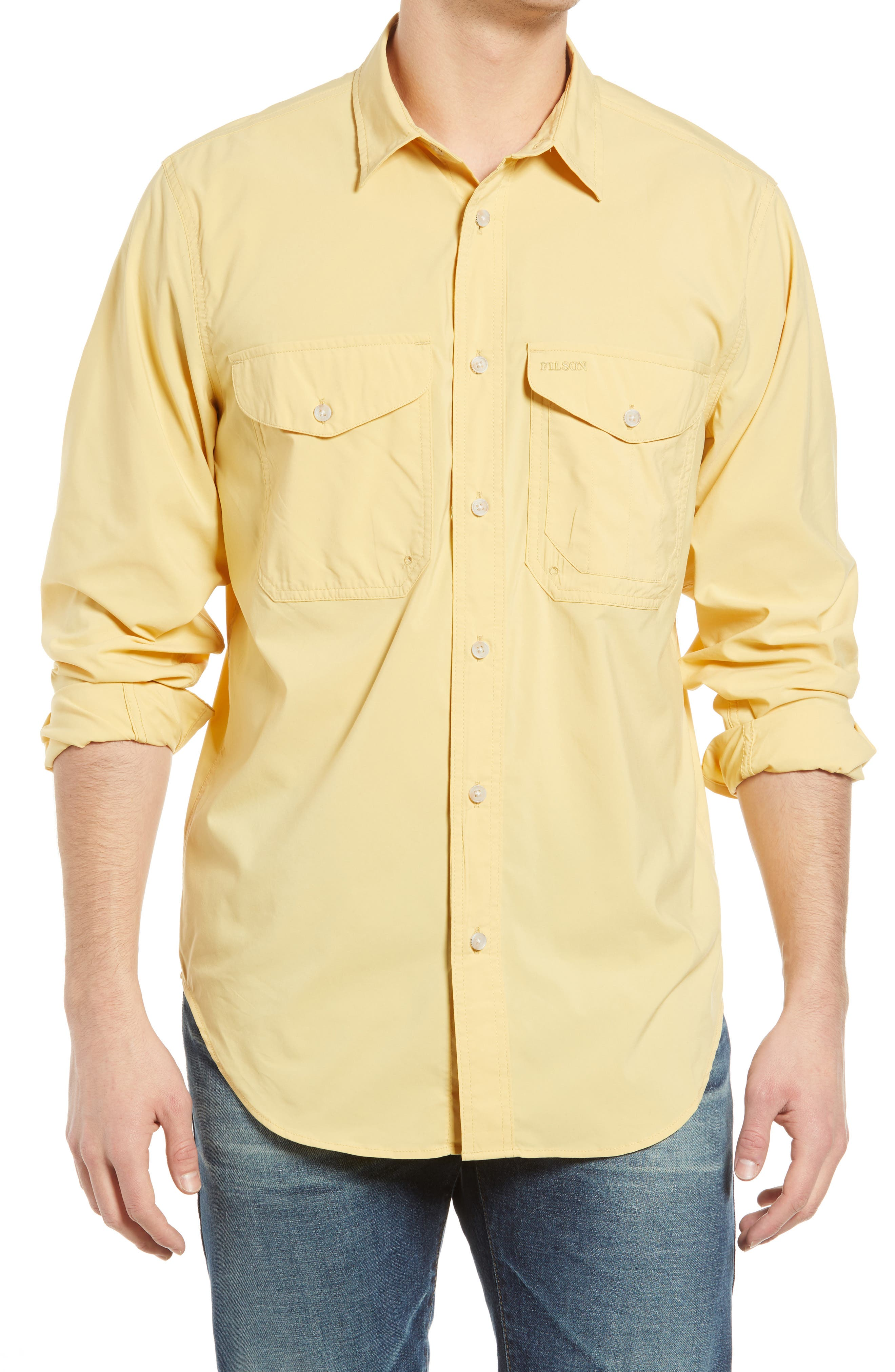 Twin Lakes Long Sleeve Button-Up Shirt