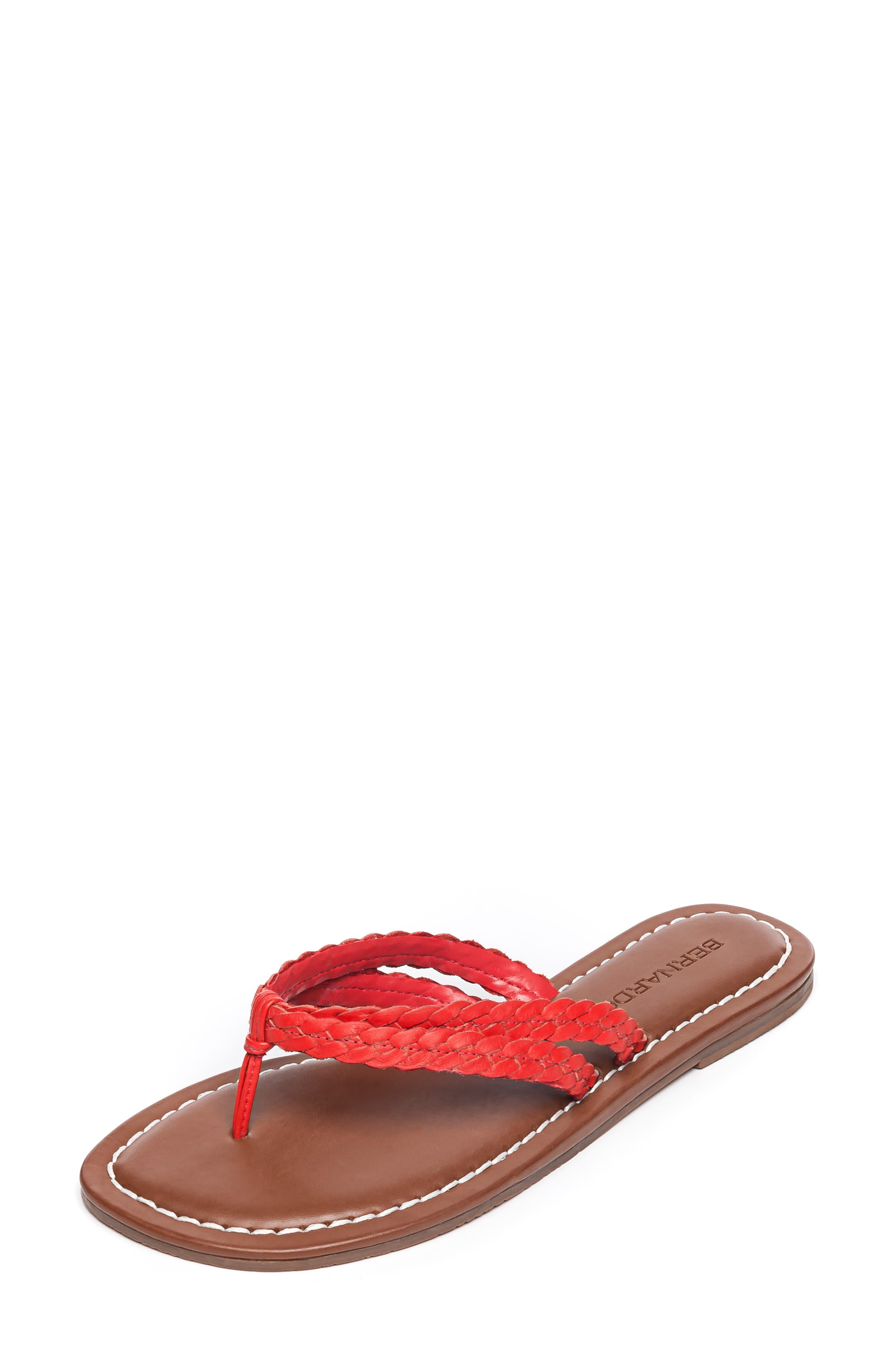 Bernardo Mariah Flip Flop, Red