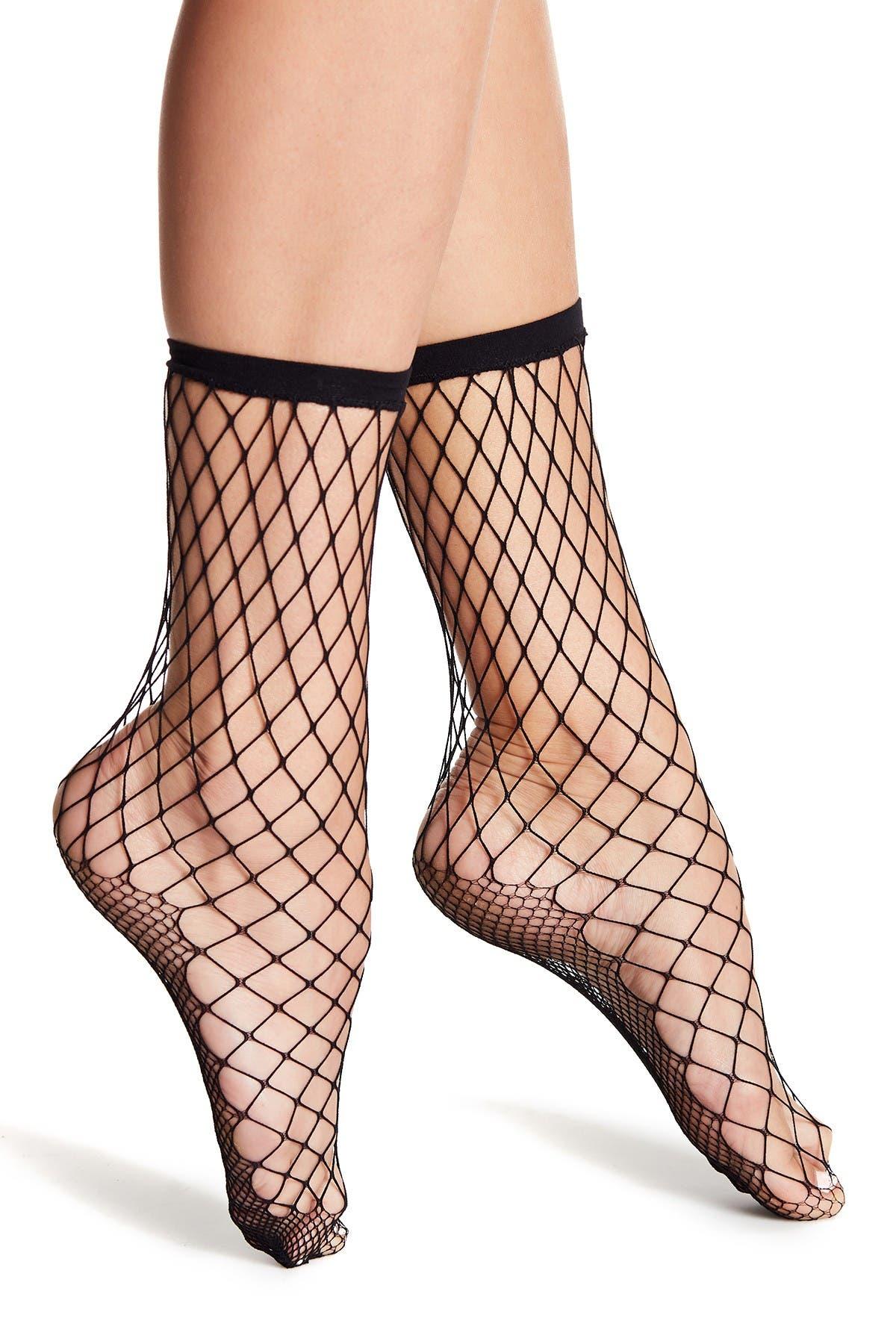 Image of Free People Sugar Sugar Fishnet Socks