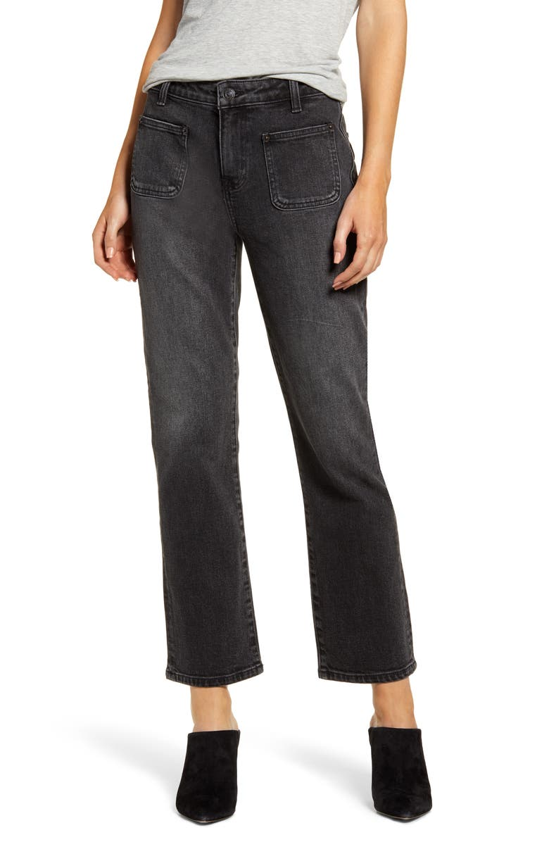 CURRENT/ELLIOTT The Cropped Bootcut Jeans, Main, color, SUMMER SHADOW
