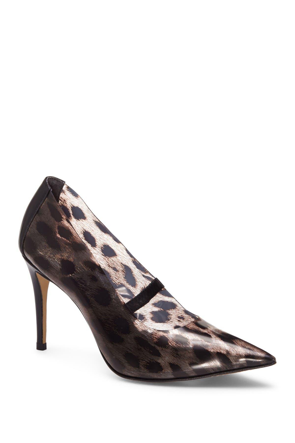 vince camuto animal print shoes