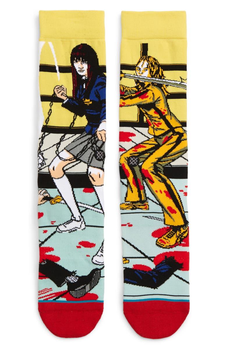 STANCE The Bride & Gogo Socks, Main, color, PURPLE