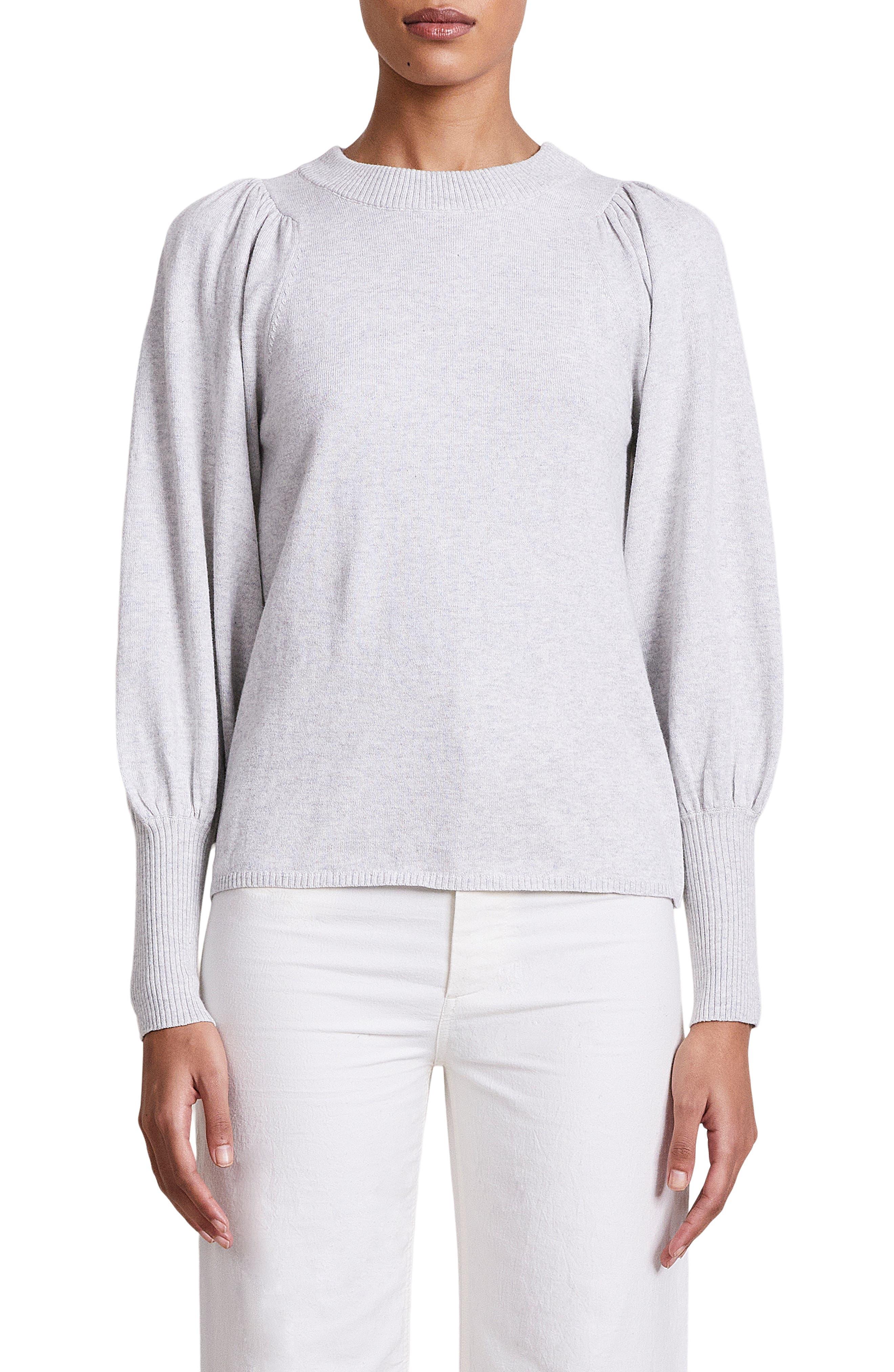Dewi Puff Sleeve Sweater