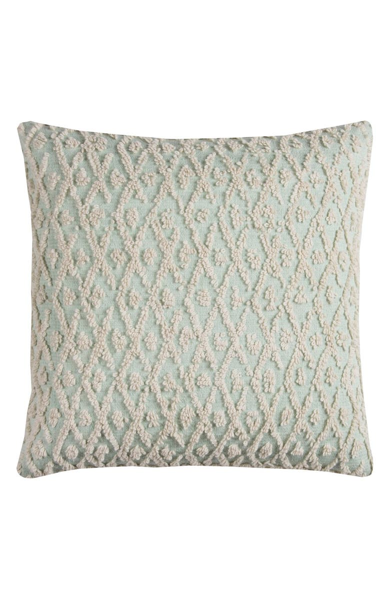 RIZZY HOME Abstract Texture Accent Pillow, Main, color, 300