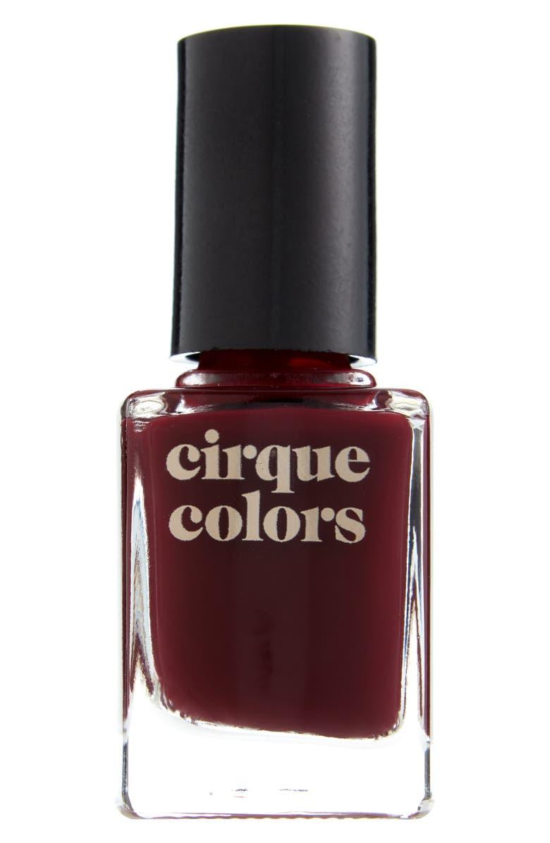 CIRQUE COLORS Rothko Red Thermal Nail Polish, Main, color, 600