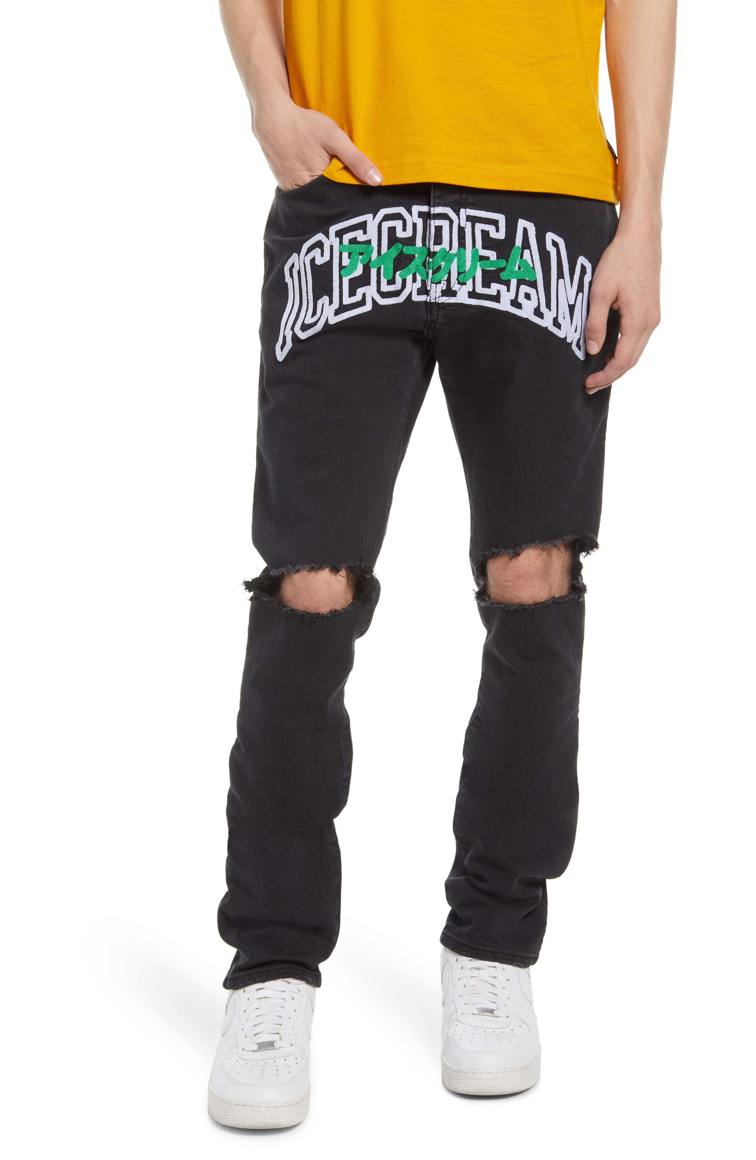Leap Ripped Jeans