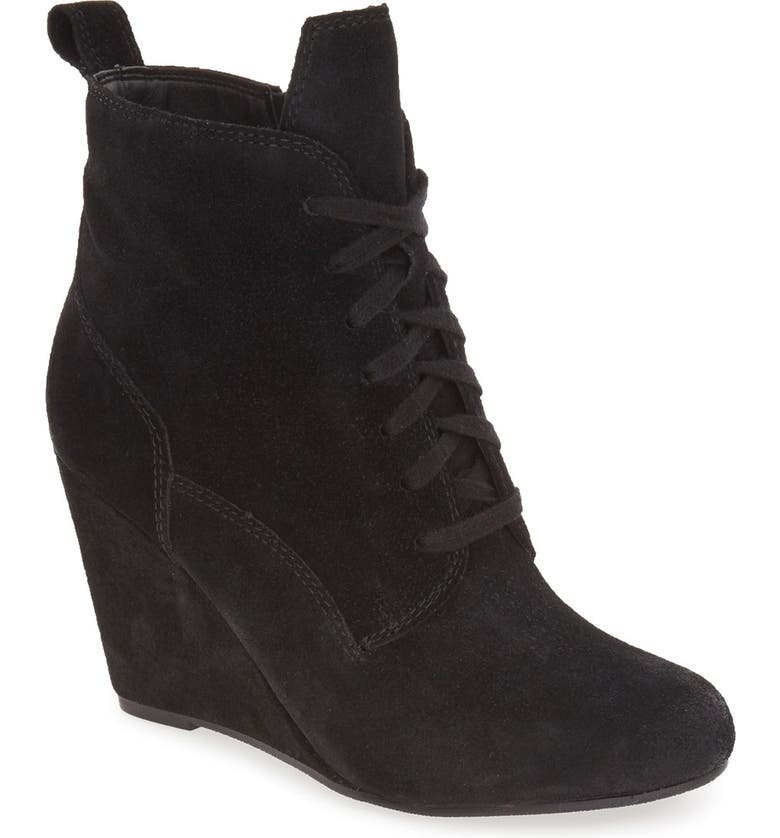 DOLCE VITA 'Grady' Wedge Bootie, Main, color, 001