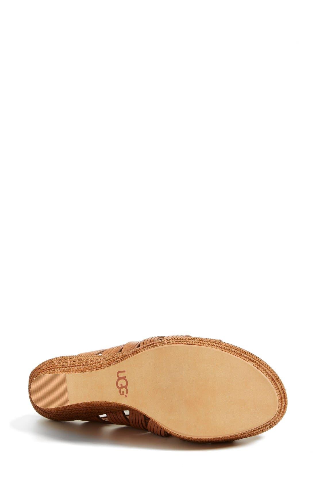 ,                             'Melinda' Platform Wedge Sandal,                             Alternate thumbnail 12, color,                             200