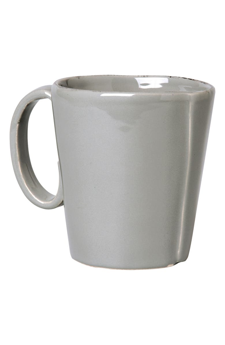 VIETRI Lastra Mug, Main, color, GRAY