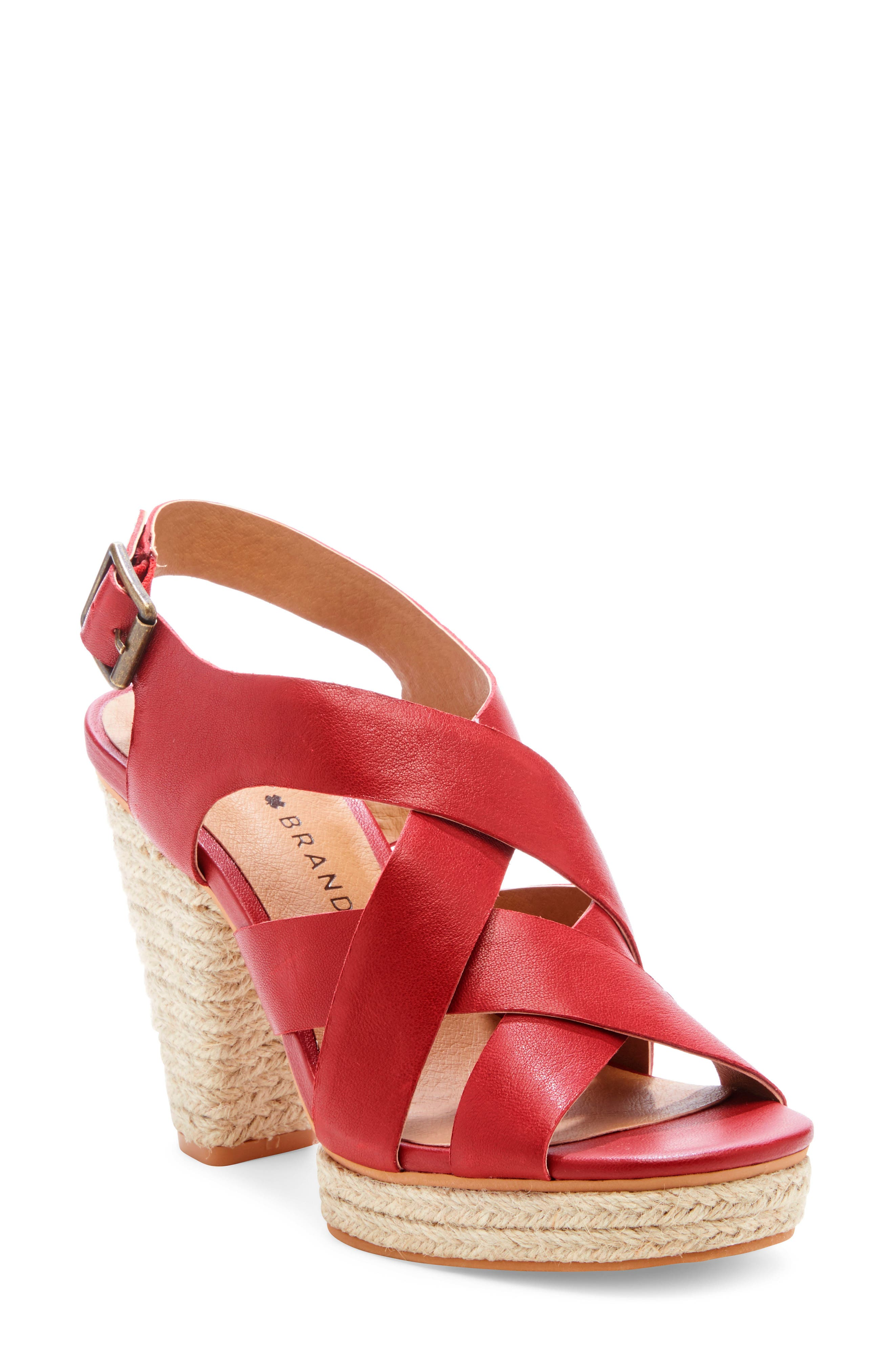 Lucky Brand Cabino Sandal, Red
