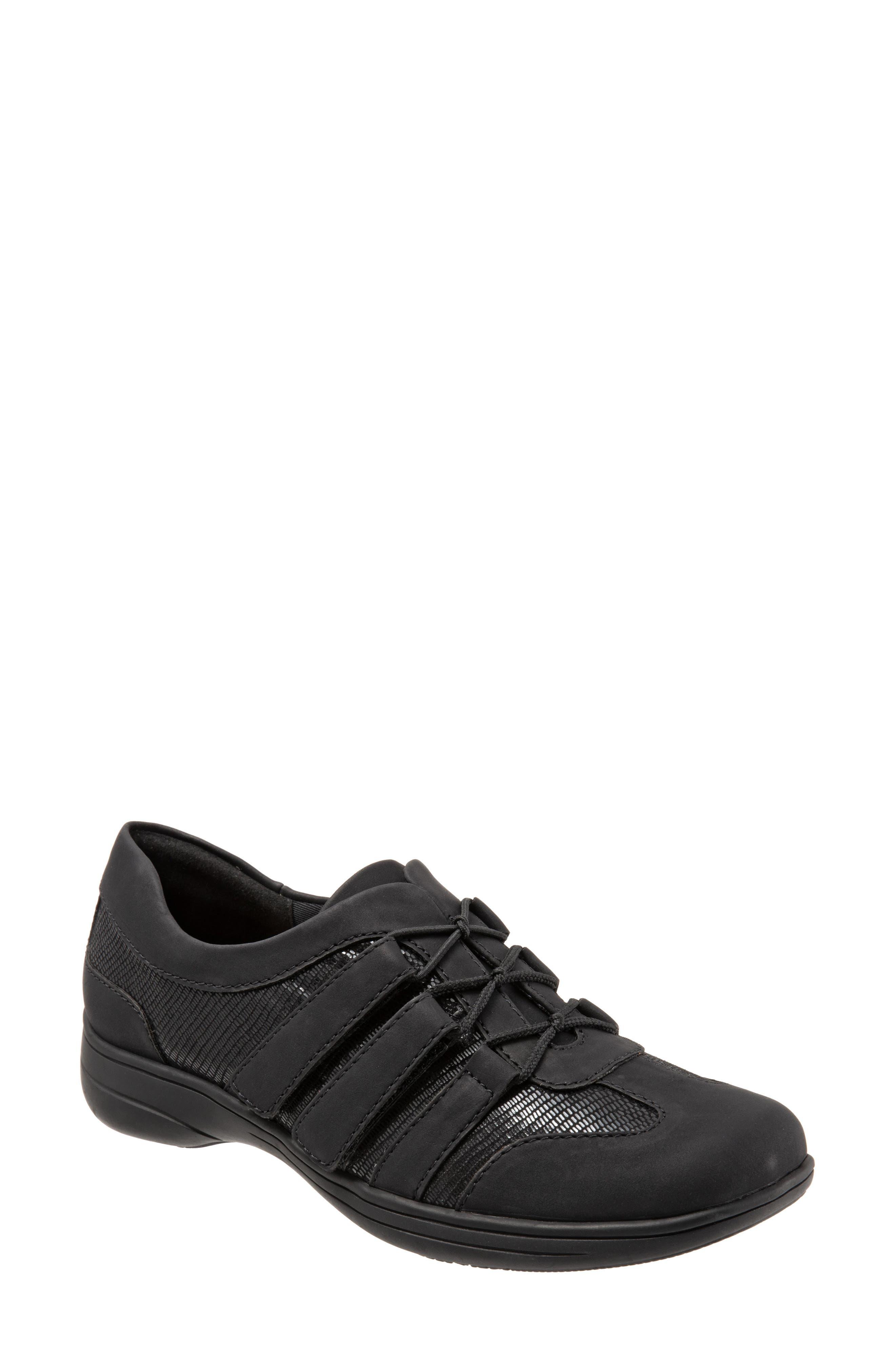 Trotters Joy Slip-On Sneaker N - Black