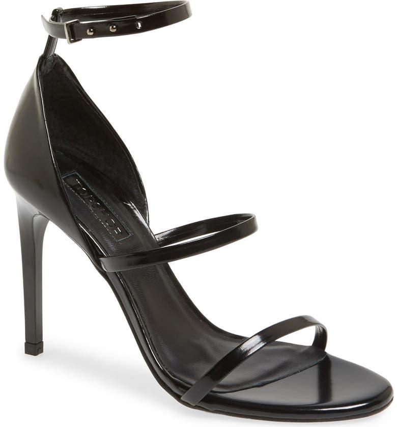 TOPSHOP 'Ripple' Sandal, Main, color, 001
