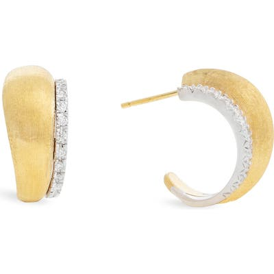 Marco Bicego Lucia Diamond Hoop Earrings