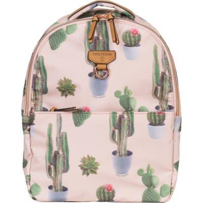 Infant Twelvelittle Mini-Go Water Resistant Diaper Backpack - Pink