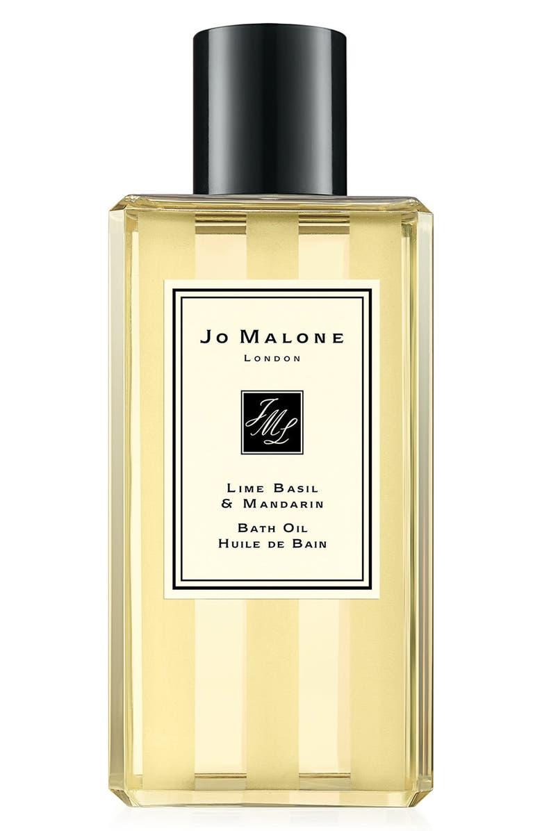 JO MALONE LONDON<SUP>™</SUP> Lime Basil & Mandarin Bath Oil, Main, color, NO COLOR