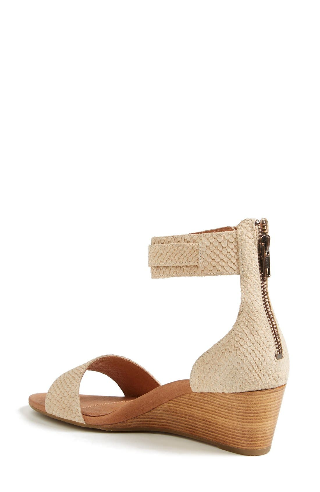 ,                             Australia 'Char Mar' Ankle Cuff Wedge Sandal,                             Alternate thumbnail 14, color,                             900