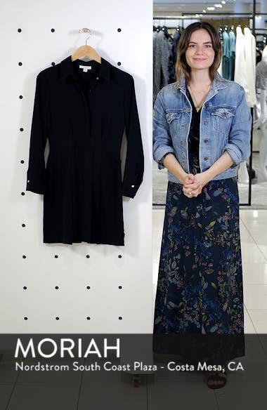 Pleated Mini Shirtdress, sales video thumbnail