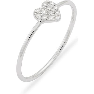 Bony Levy Mika Love Heart Shaped Diamond Ring (Nordstrom Exclusive)