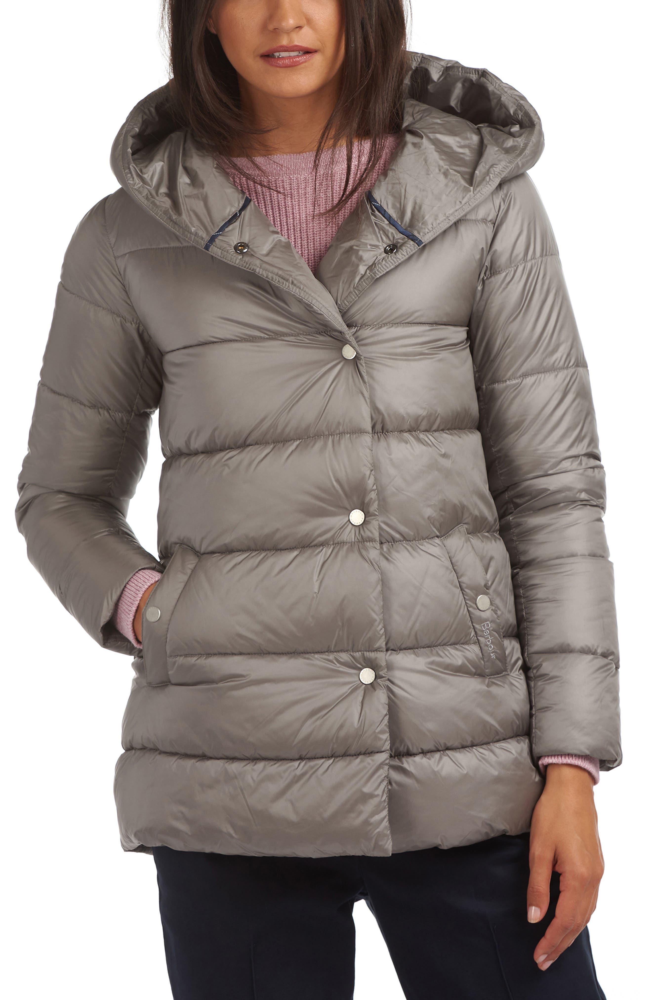 Barbour Lossie Hooded Puffer Jacket | Nordstrom